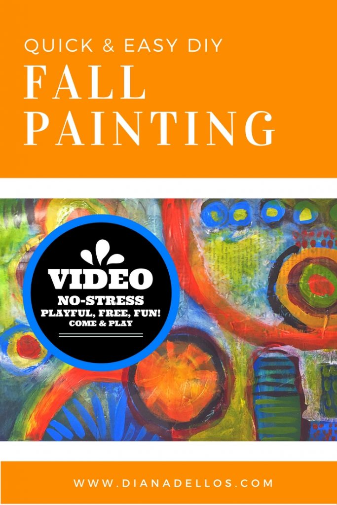 fall painting video