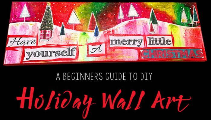 Holiday Wall Art Painting