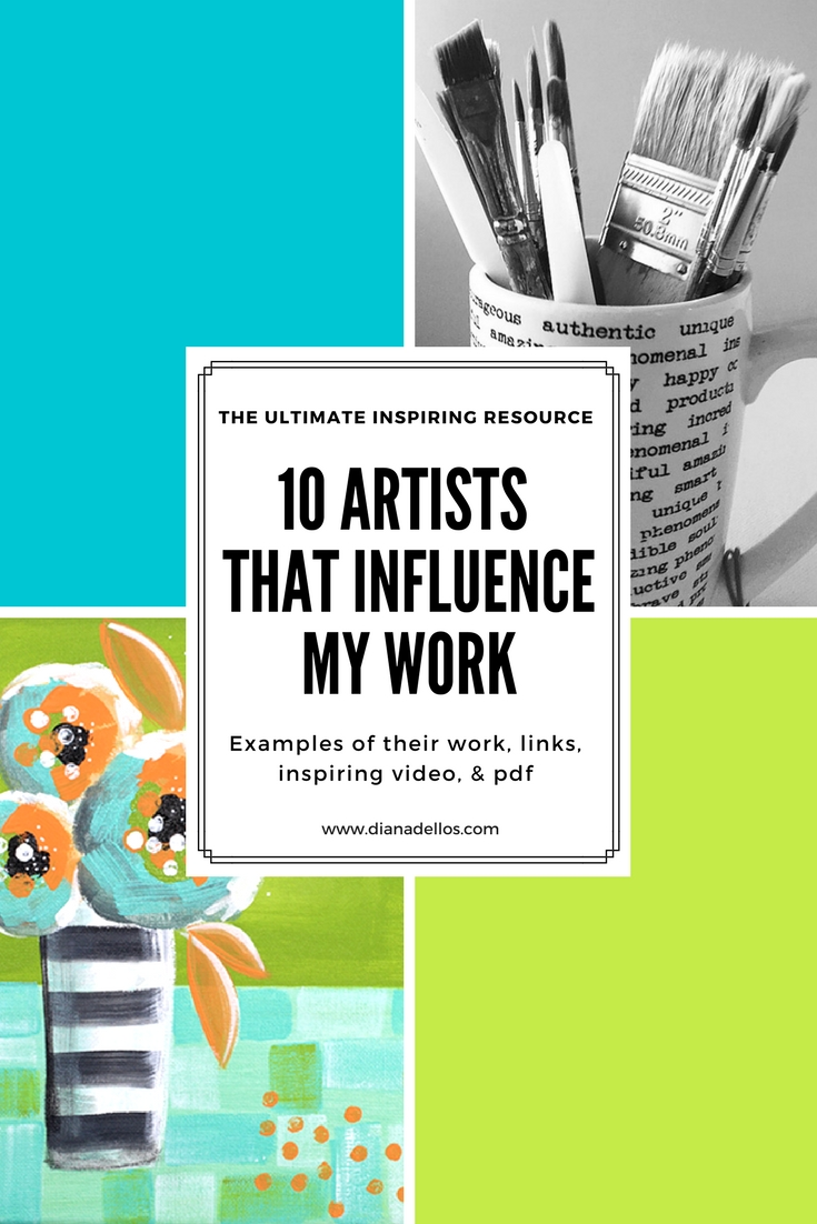 10artists that influence