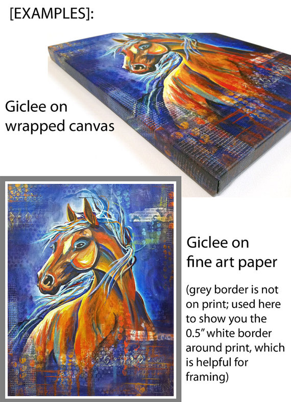 giclee options, dianadellos.com