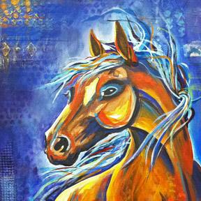 spirit horse, dianadellos.com
