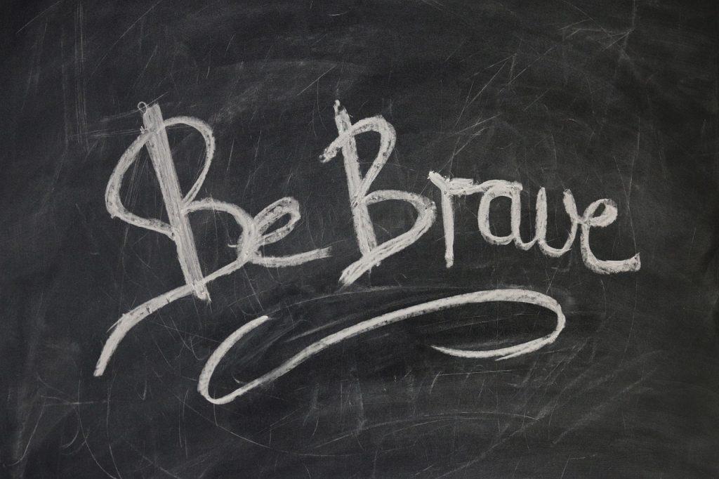 Be Brave, dianadellos.com