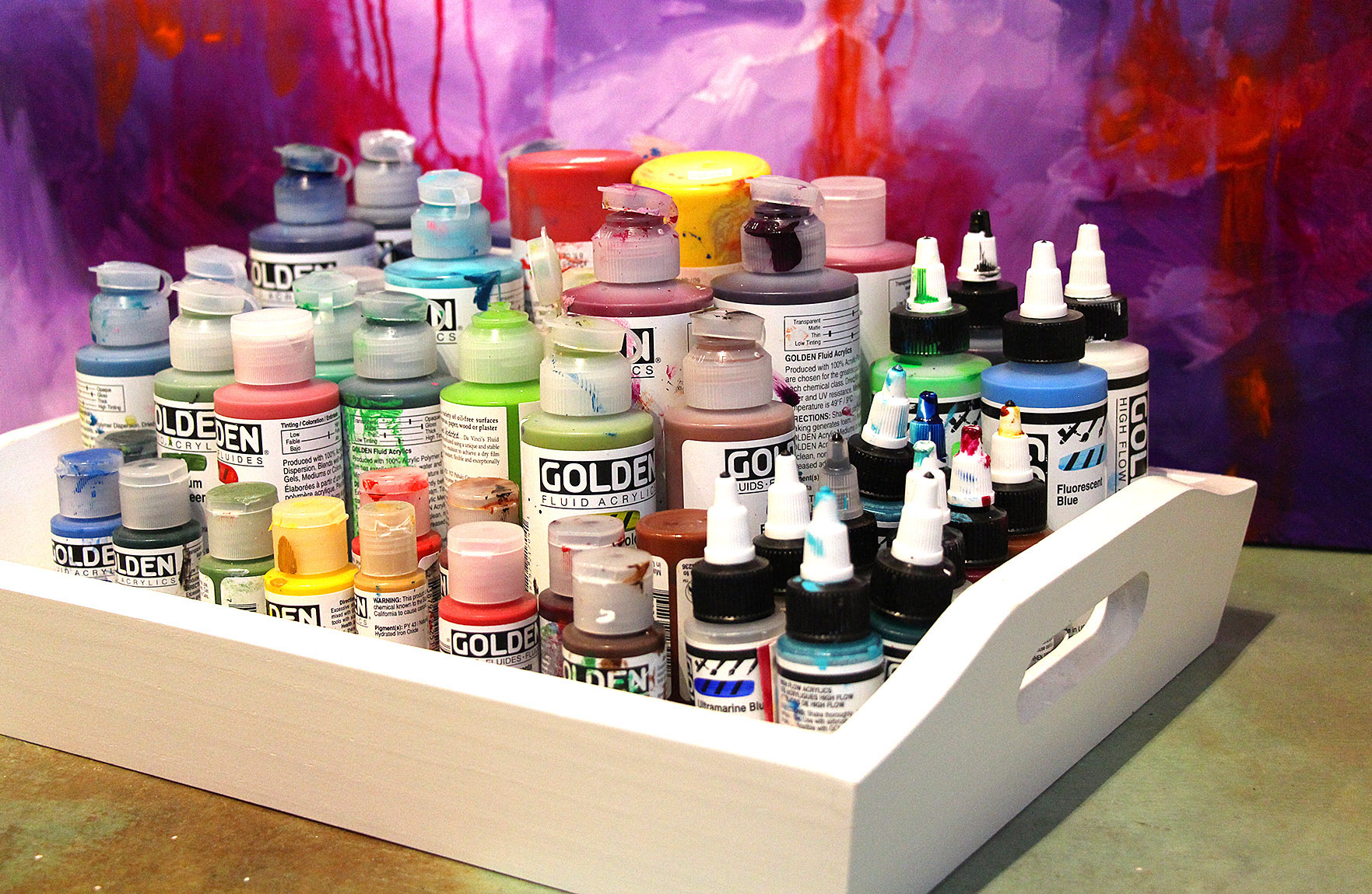 Store Organize Art Supplies 6 Ways To Store Paint Tubes