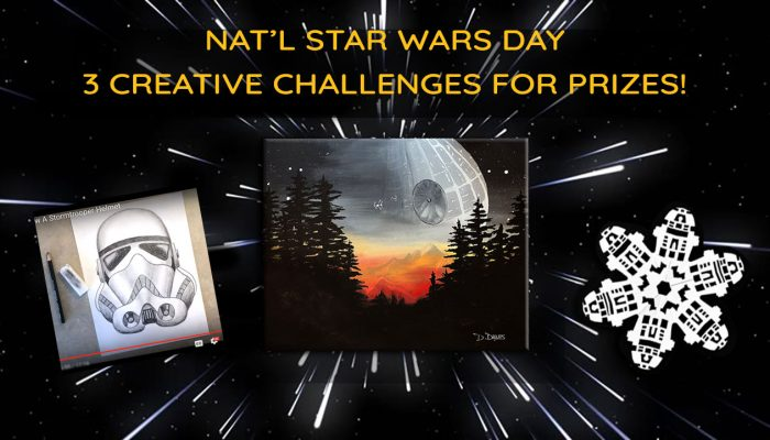 3 Creative Challenges for National Star Wars Day