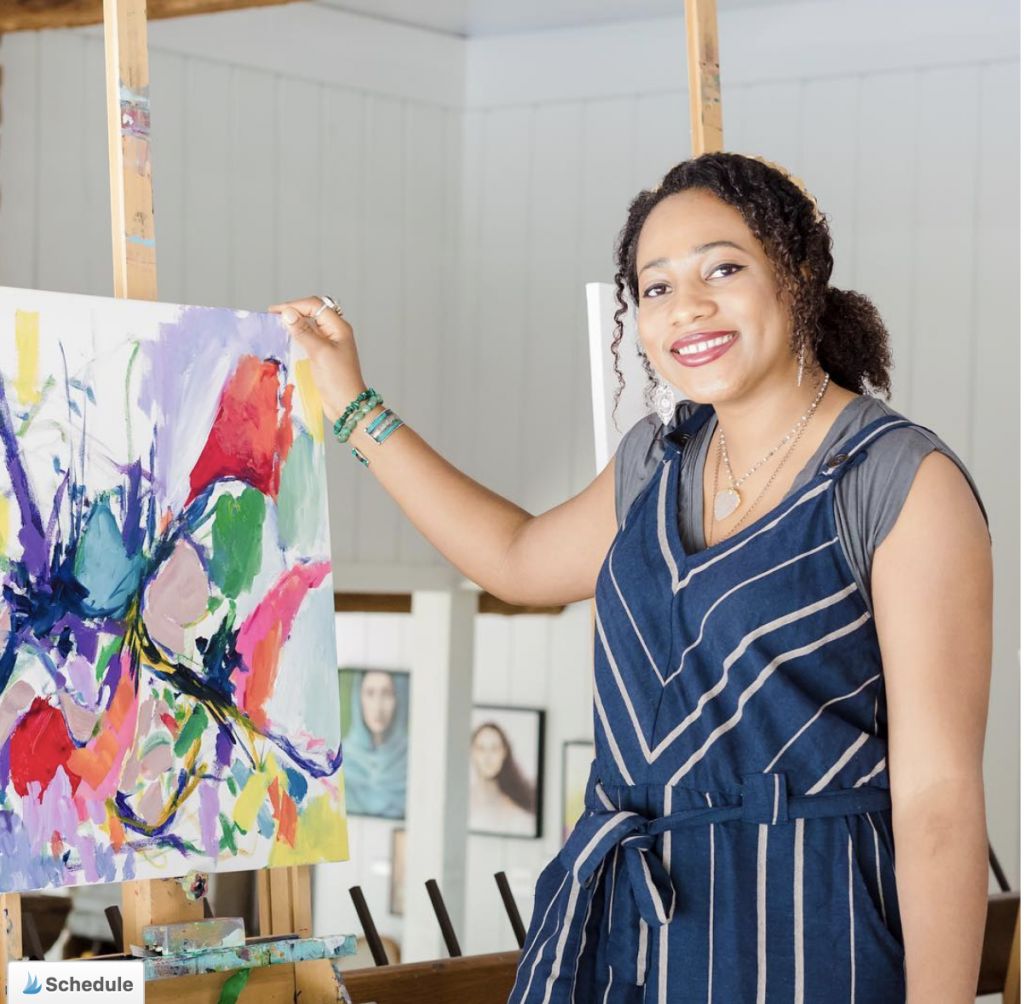 Artist Feature: Amir Arahim | Amira Rahim is a successful artist who teaches other artists how to thrive too.