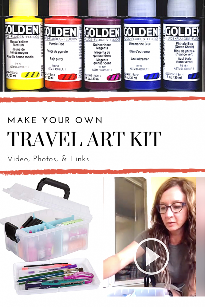 Art Travel Kit, dianadellos.com