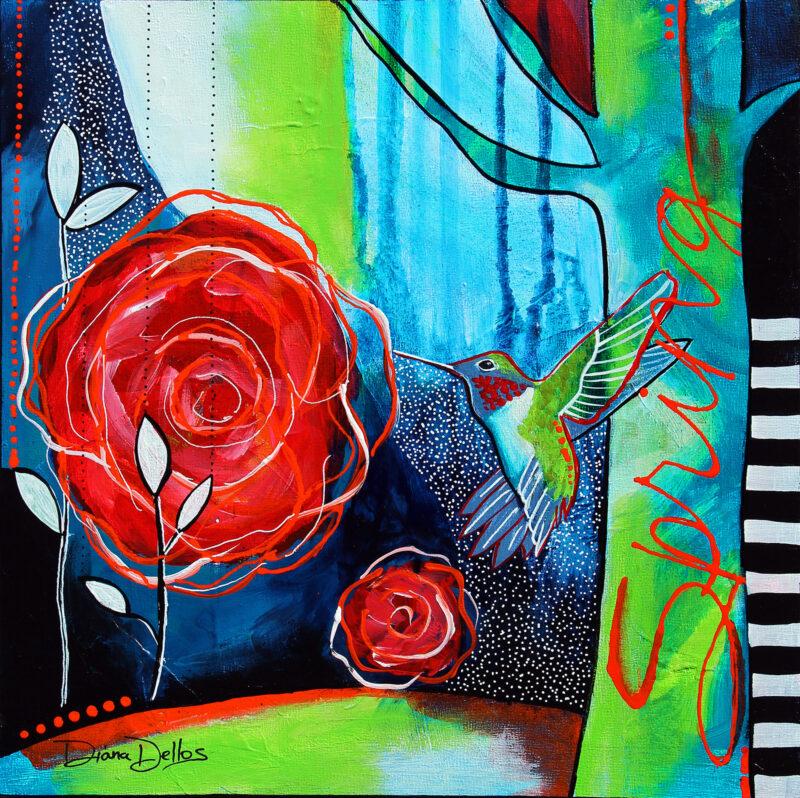 Joyful Spring_Diana Dellos