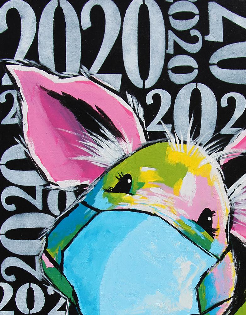 2020 Masked Piggy